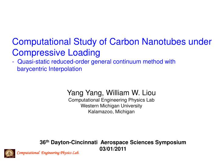 Computational Study of Carbon Nanotubes under Compressive Loading
