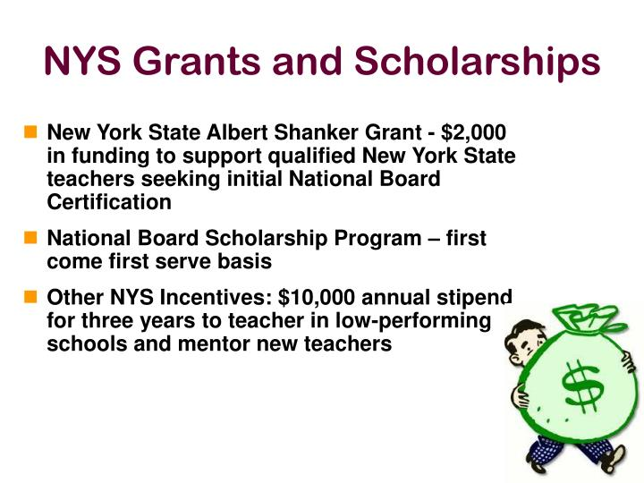 NYS Grants and Scholarships