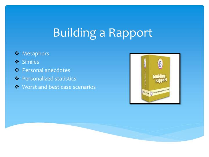 Building a Rapport