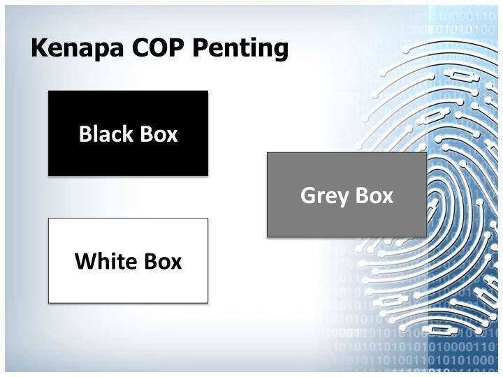 Kenapa COP Penting