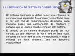 1 1 1 definici n de sistemas distribuidos