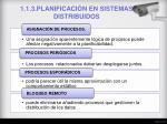 1 1 3 planificaci n en sistemas distribuidos