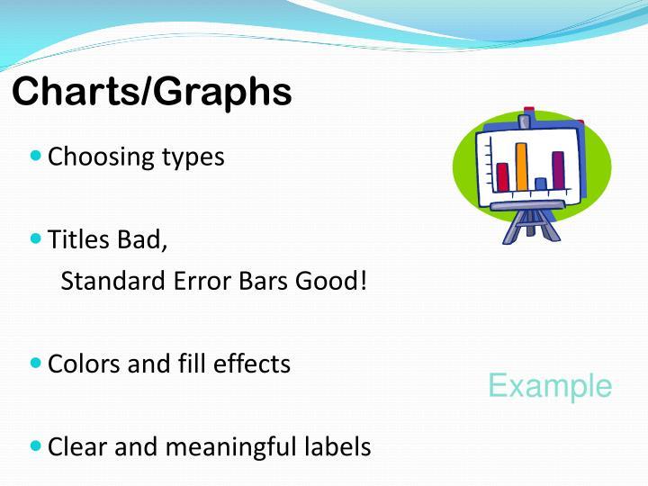 Charts/Graphs