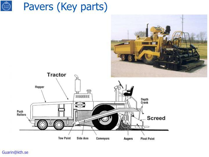 Pavers (Key parts)