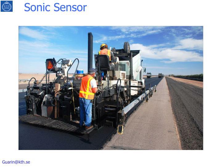 Sonic Sensor