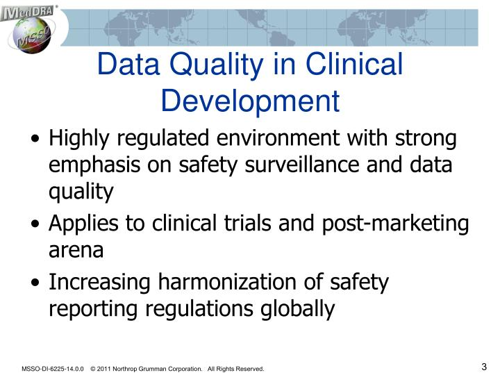 Data Quality in Clinical Development