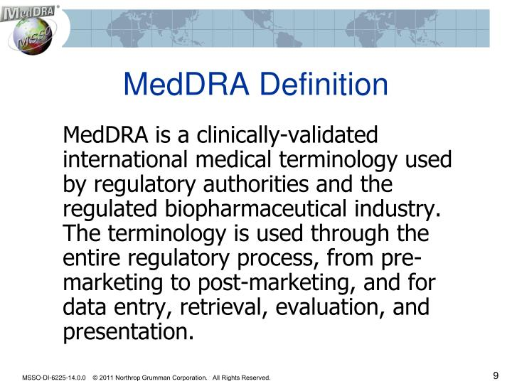 MedDRA Definition