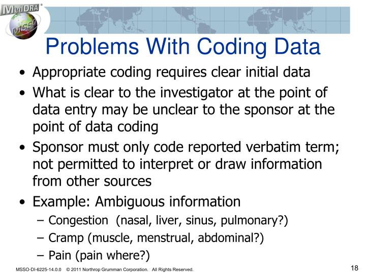 Problems With Coding Data