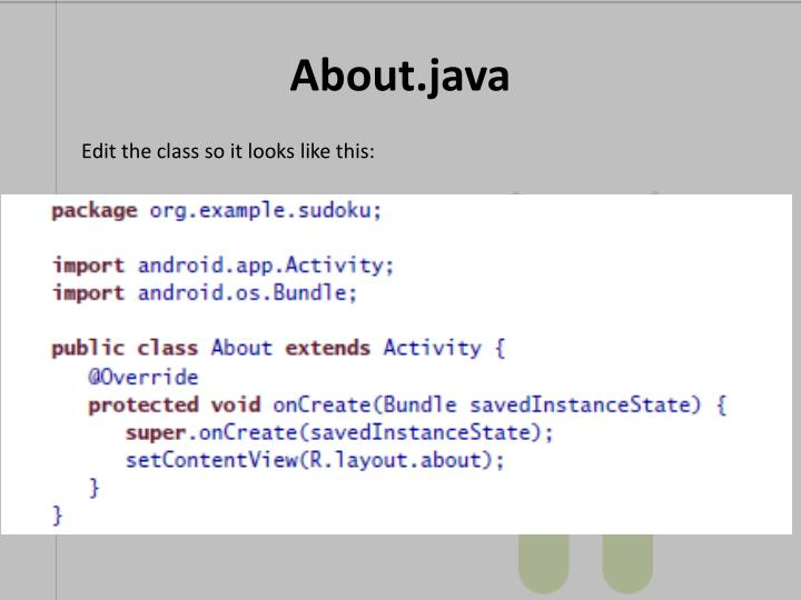 About.java