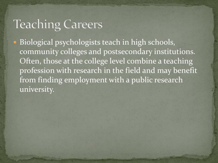 Teaching Careers
