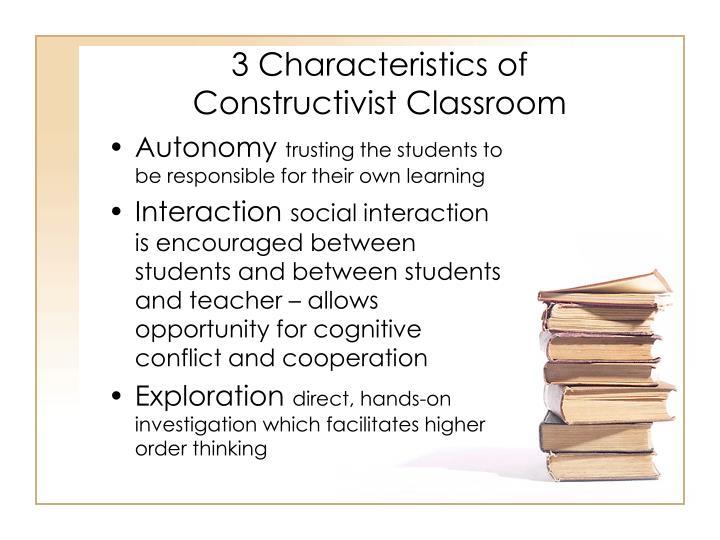 3 Characteristics of