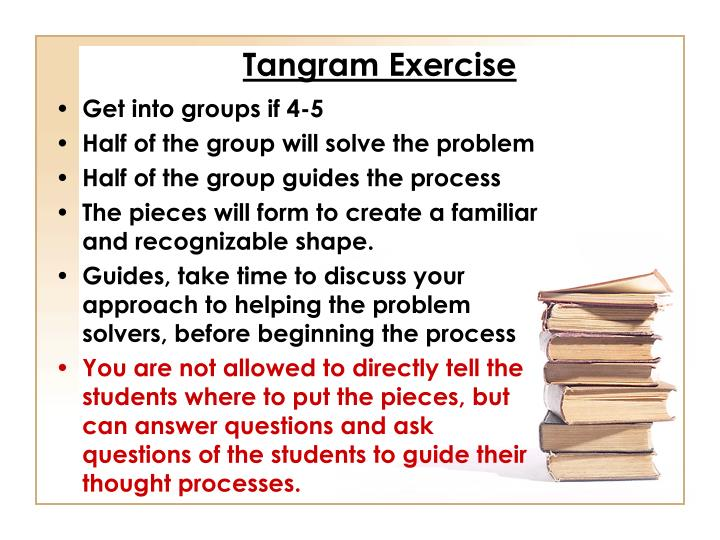 Tangram Exercise