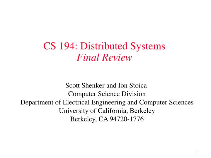 failures that may occur in a distributed systems essay Write a 3-page paper describing four types of failures that may occur in a distributed system specify which of these - answered by a verified writer.