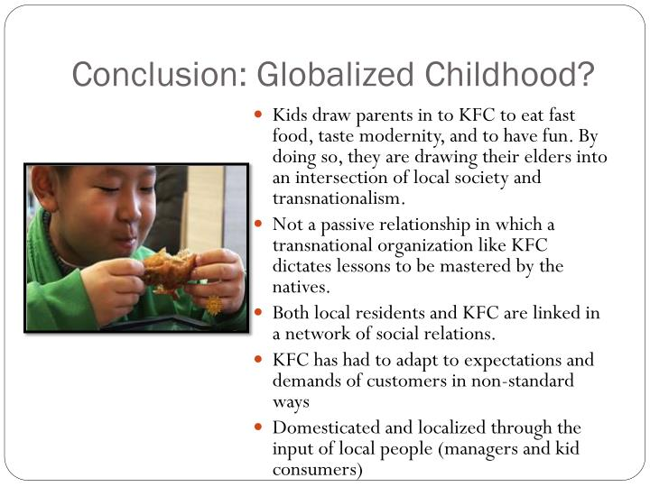 Conclusion: Globalized Childhood?