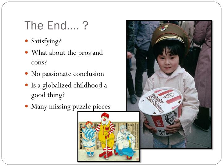 The End…. ?