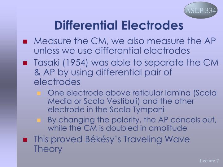 Differential Electrodes