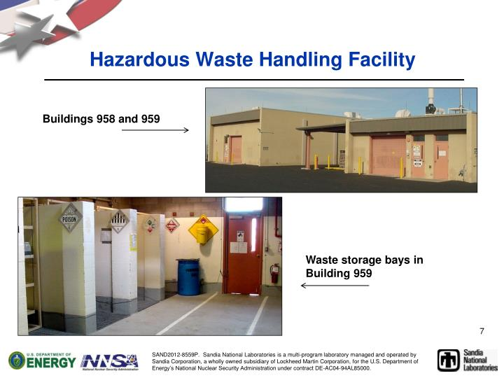 Hazardous Waste Handling Facility