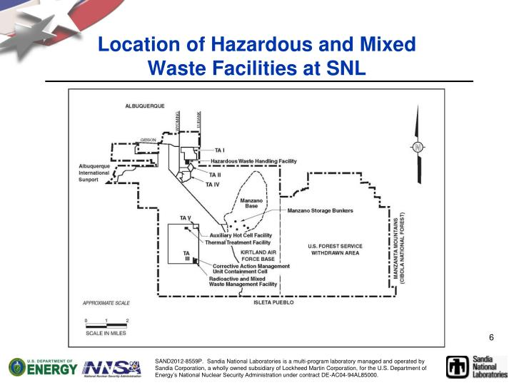 Location of Hazardous and Mixed