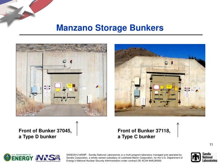 Manzano Storage Bunkers
