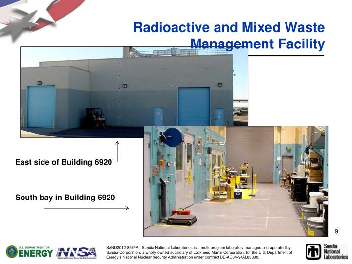 Radioactive and Mixed Waste