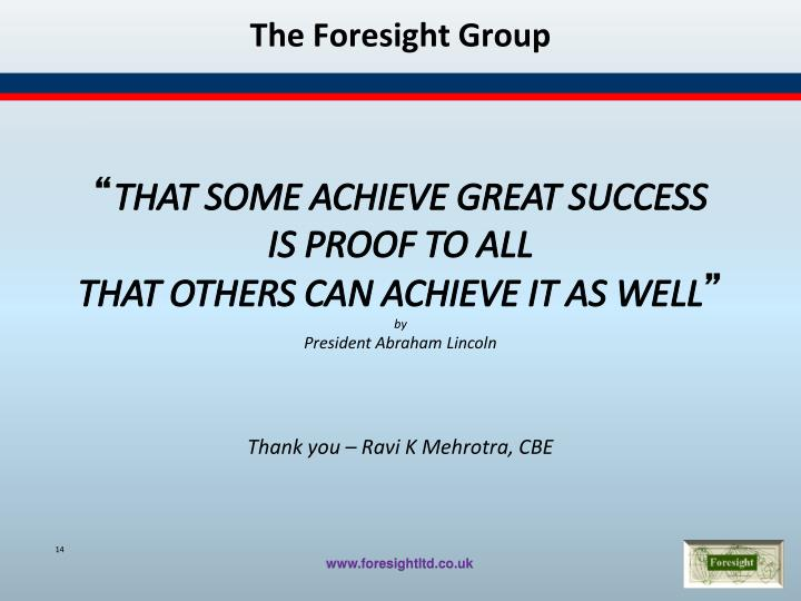 The Foresight Group