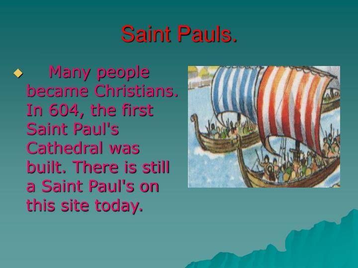 Saint Pauls.