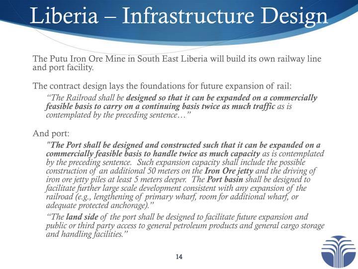 Liberia – Infrastructure Design