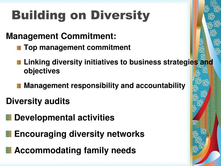 Building on Diversity
