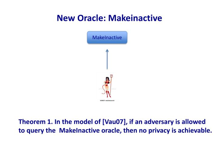New Oracle: