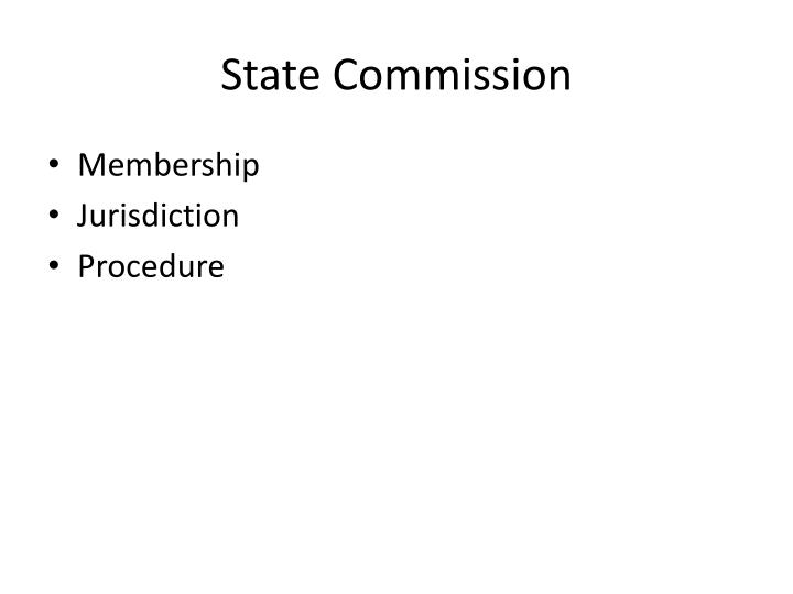 State Commission