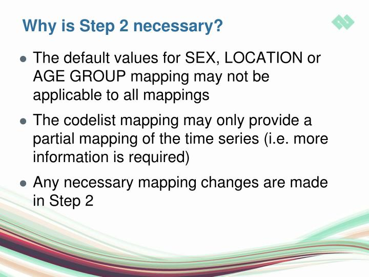 Why is Step 2 necessary?