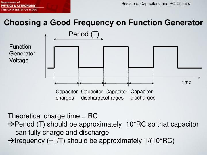 Choosing a Good Frequency on Function Generator