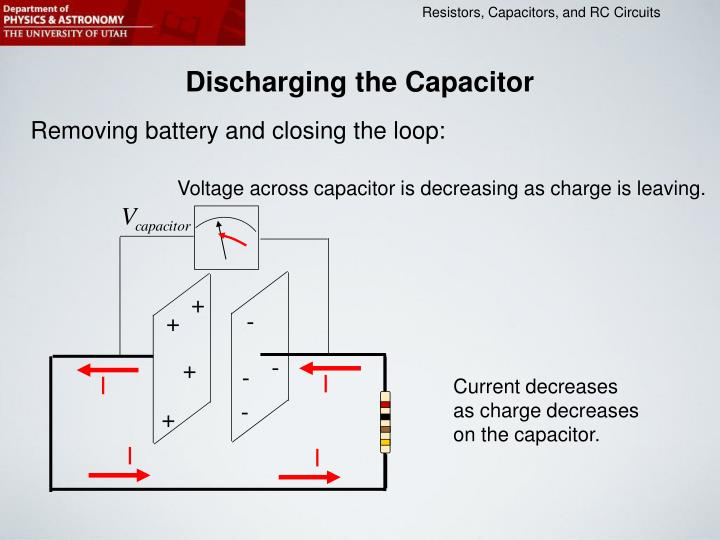 Discharging the Capacitor