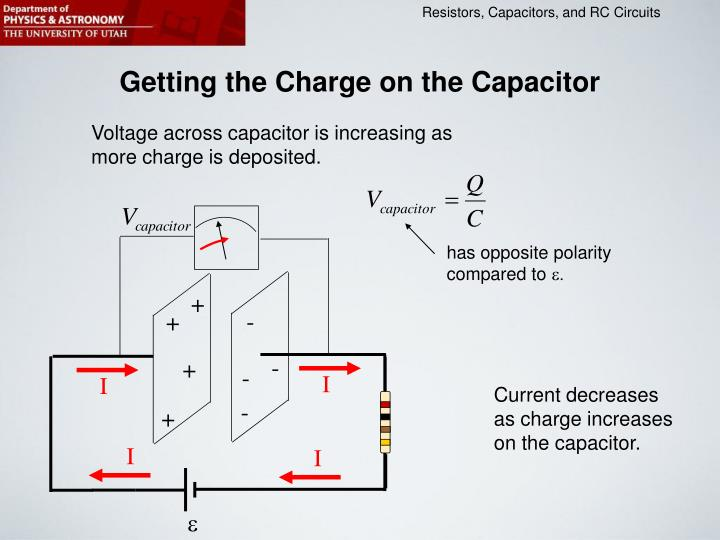 Getting the Charge on the Capacitor