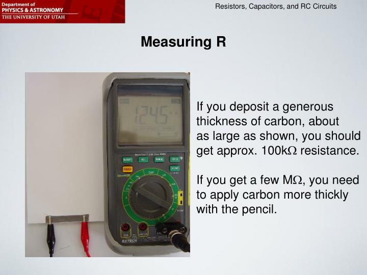 Measuring R