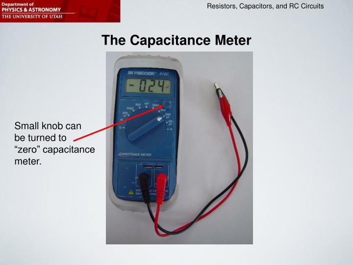 The Capacitance Meter