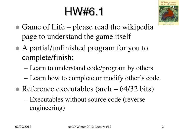 HW#6.1