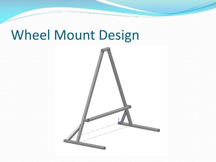 Wheel Mount Design