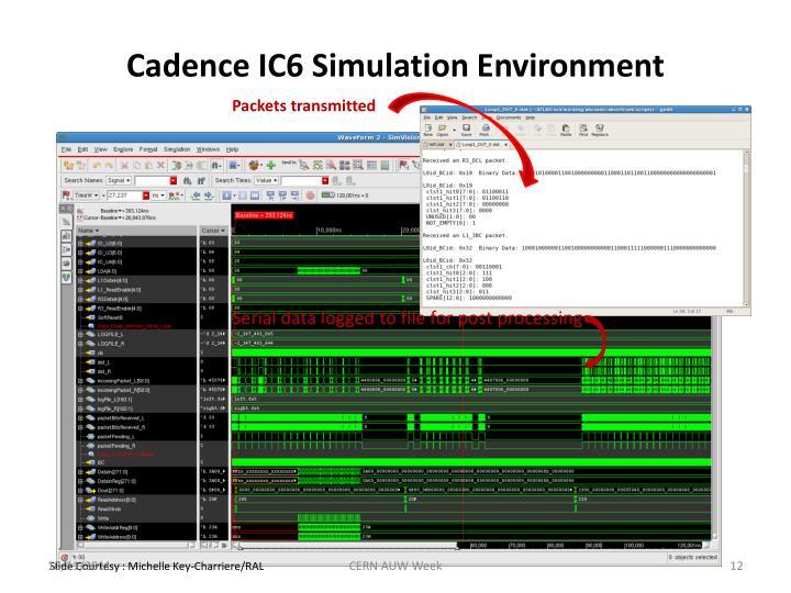 Cadence IC6 Simulation Environment