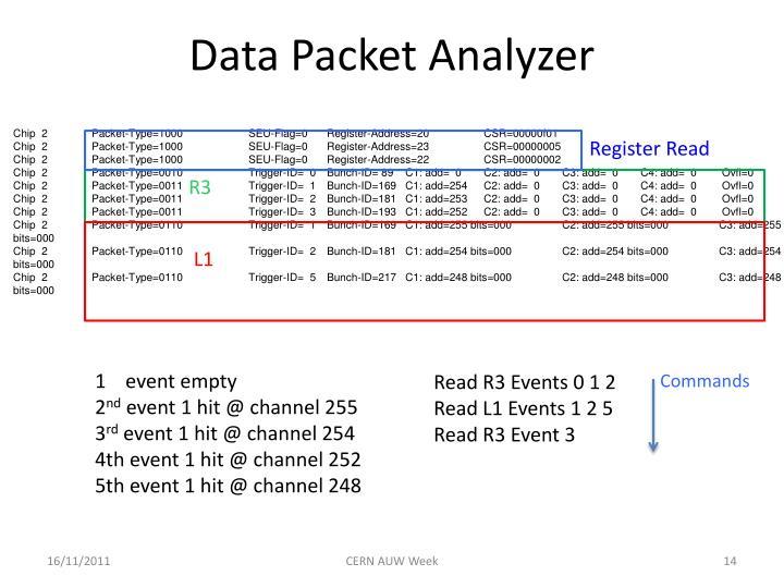 Data Packet Analyzer