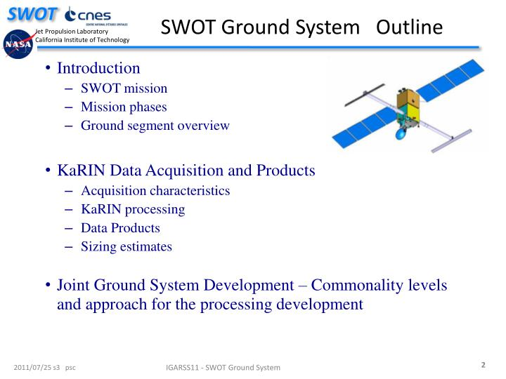 SWOT Ground System   Outline