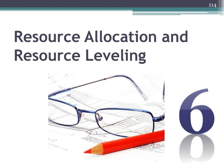 Resource Allocation and Resource Leveling