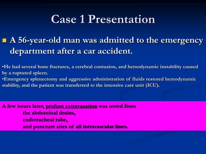 Case 1 Presentation
