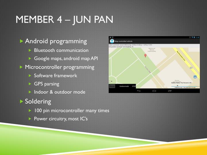 Member 4 – Jun Pan