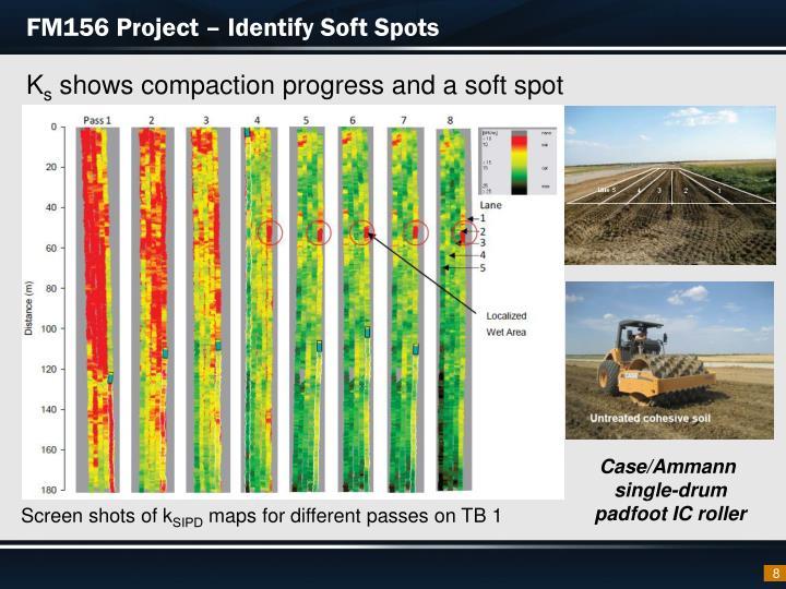 FM156 Project – Identify Soft Spots
