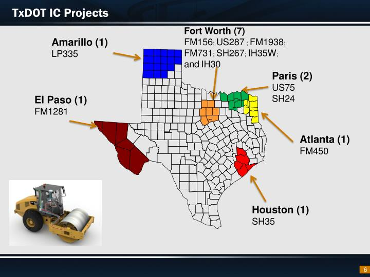TxDOT IC Projects