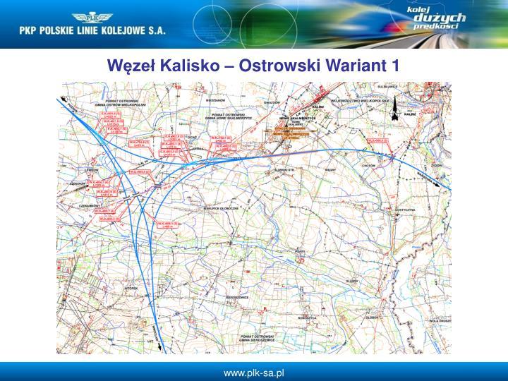 Wze Kalisko  Ostrowski Wariant 1