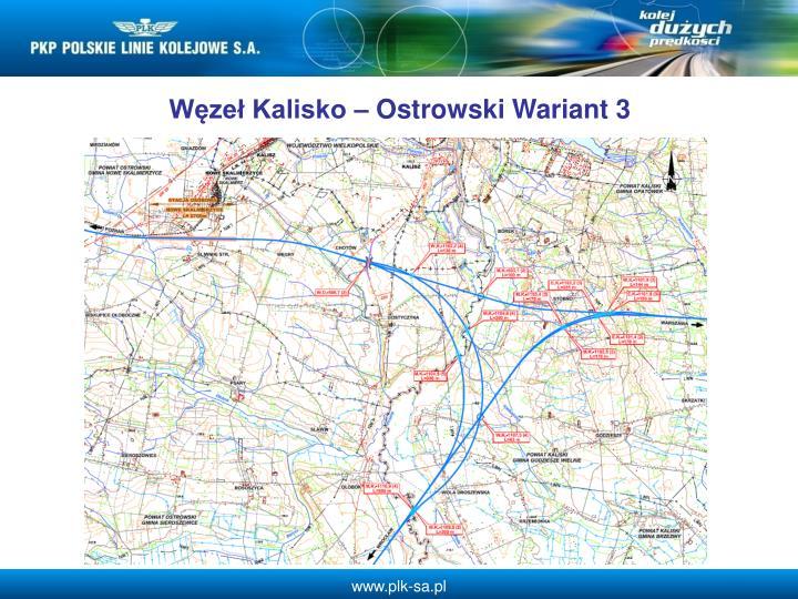 Wze Kalisko  Ostrowski Wariant 3