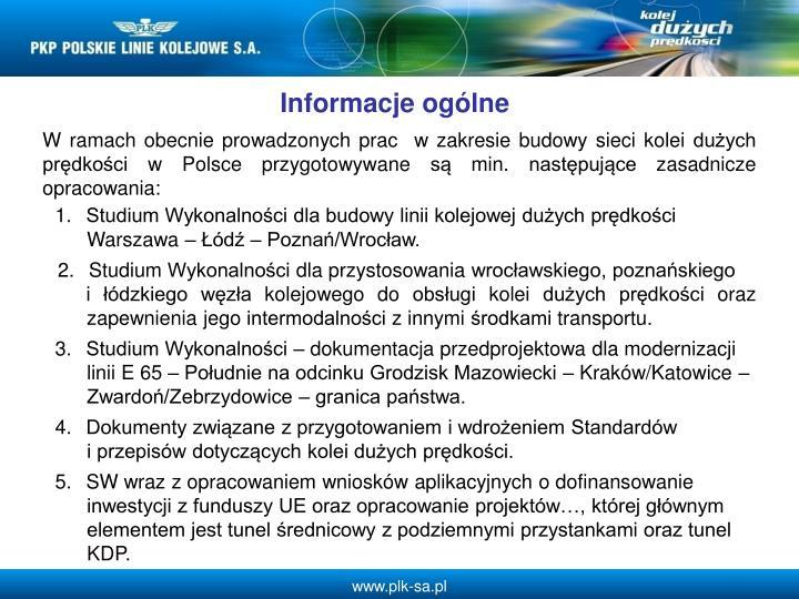 Informacje oglne