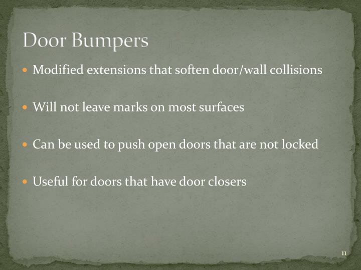 Door Bumpers